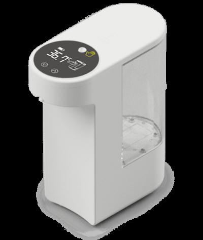 温度測定・消毒機「ピッとシュ!」 これ1台で完了!