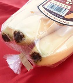 【紙製結束テープが好調】 バナナの小袋結束にも採用